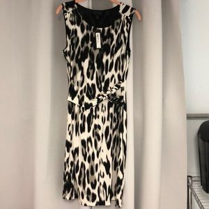 Brand new with tags animal print dress